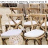Ceremony Chairs (other)
